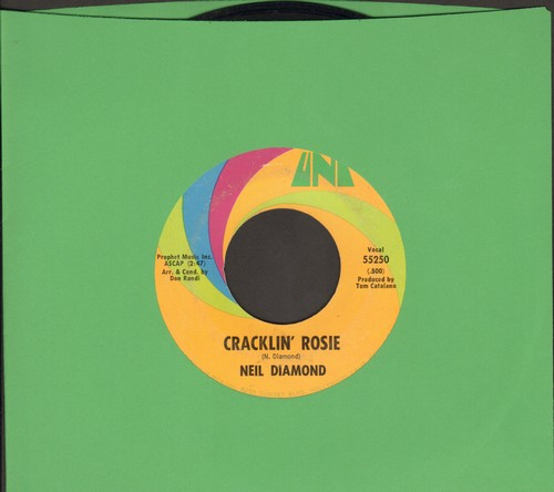 Diamond, Neil - Cracklin' Rosie/Lordy - EX8/ - 45 rpm Records
