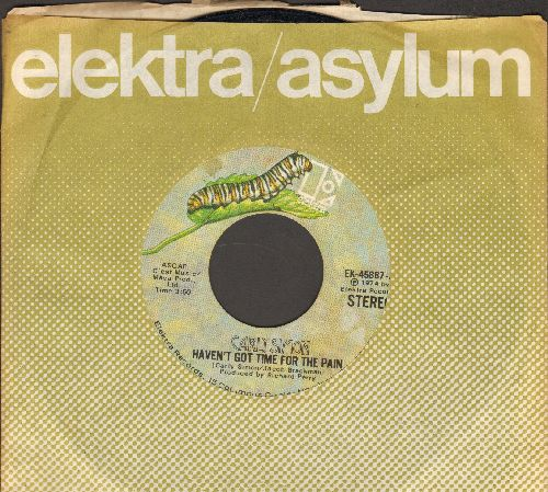 Simon, Carly - Haven't Got Time For The Pain/Mind On My Man (with company sleeve) - EX8/ - 45 rpm Records