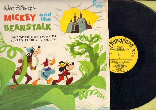 Disney - Mickey And The Beanstalk - The complete story and all the songs with the original cast (Vinyl MONO LP record) - VG7/VG7 - LP Records