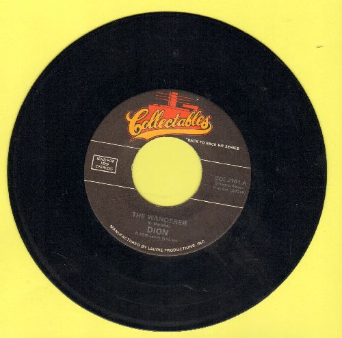 Dion - The Wanderer/No One Knows (double-hit re-issue) - EX8/ - 45 rpm Records