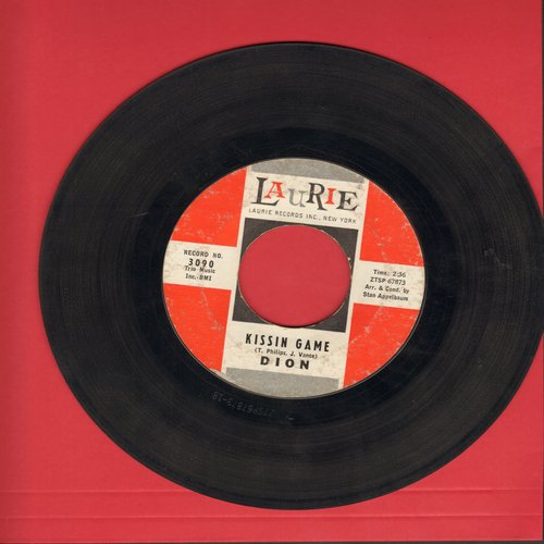 Dion - Kissin Game/Heaven Help Me - EX8/ - 45 rpm Records