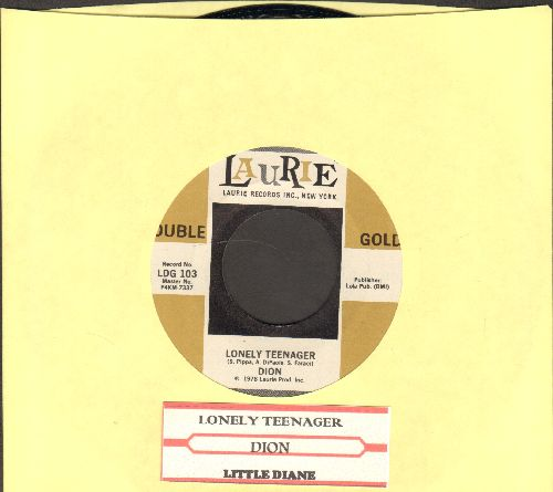 Dion - Lonely Teenager/Little Diane (double-hit re-issue with juke box label) - NM9/ - 45 rpm Records