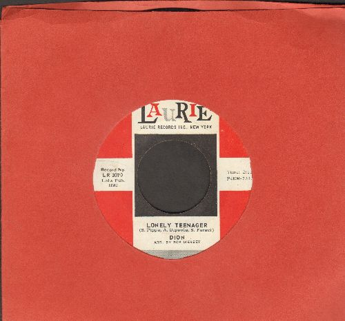 Dion - Little Miss Blue (FANTASTIC Overlooked Flip-Side!)/Lonely Teenager  - NM9/ - 45 rpm Records