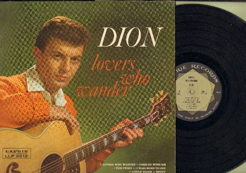 Dion - Lovers Who Wander: Come Go With Me, The Twist, Shout, Stagger Lee, Sandy (Vinyl MONO LP record) - VG7/VG7 - LP Records