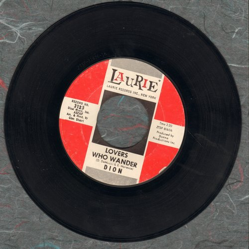 Dion - Lovers Who Wander/(I Was) Born To Cry  - VG7/ - 45 rpm Records