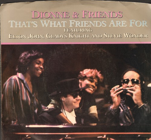 Dionne & Friends - That's What Friends Are For (w/pic!) - NM9/EX8 - 45 rpm Records