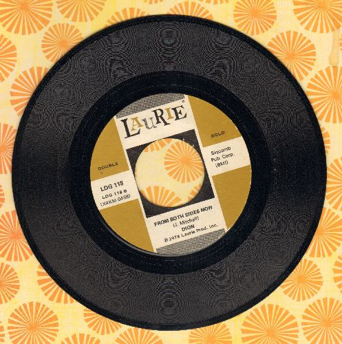 Dion - From Both Sides Now/Abraham, Martin & John (authentic-looking double-hit re-issue) - M10/ - 45 rpm Records