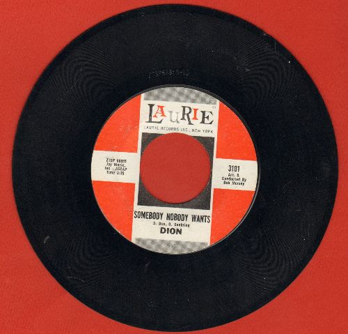 Dion - Somebody Nobody Wants/Could Somebody Take My Place Tonight - NM9/ - 45 rpm Records