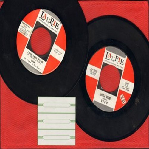Dion - 2 for 1 Special: Little Diane/Love Came To Me (2 vintage first issue 45rpm records for the price of 1!) - EX8/ - 45 rpm Records