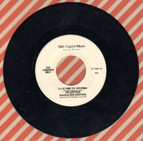 Drifters - I'll Be Home For Christmas/Christmas Time Is Here (Limited Edition Juke Box Pressing) - M10/ - 45 rpm Records