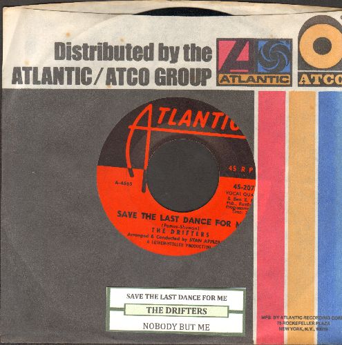 Drifters - Save The Last Dance For Me/Nobody But Me (with juke box label and company sleeve) - NM9/ - 45 rpm Records