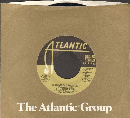 Drifters - This Magio Moment/Some Kind Of Wonderful (double-hit re-issue with Atlantic company sleeve) - NM9/ - 45 rpm Records