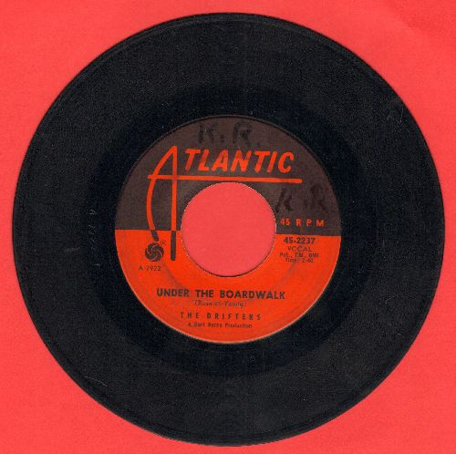 Drifters - Under The Board Walk/I Don't Want To Go On Without You (wol) - VG7/ - 45 rpm Records