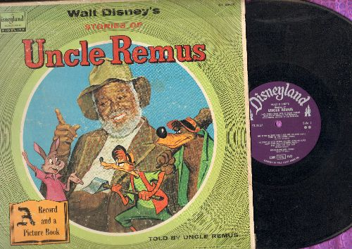 Disney - Uncle Remus: Zip-A-Dee-Doo-Dah, Uncle remus Said, Sooner Or Later - Music from Original Soundtrack (vinyl MONO LP record) - VG7/G5 - LP Records