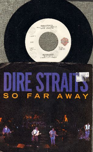 Dire Straits - So Far Away/Walk Of Life (with picture sleeve) - NM9/VG7 - 45 rpm Records