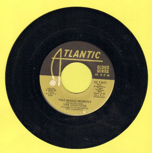 Drifters - This Magic Moment/Some Kind Of Wonderful (double-hit re-issue) - EX8/ - 45 rpm Records