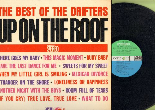 Drifters - The Best Of The Drifters: Up On The Roof, There Goes My Baby, Sweets For The Sweets, Save The Last Dance For Me (vinyl STEREO LP record) - NM9/EX8 - LP Records