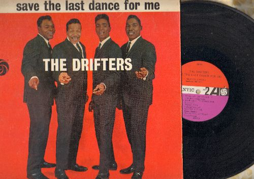Drifters - Save The Last Dance For Me: I Count The Tears, Sweets For My Sweet, Please Stay, Some Kind Of Wonderful (vinyl MONO LP record) - VG7/VG7 - LP Records
