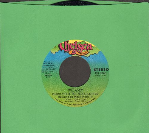 Disco Tex & The Sex-O-Lettes - Hot Lava (Parts 1 + 2) - NM9/ - 45 rpm Records