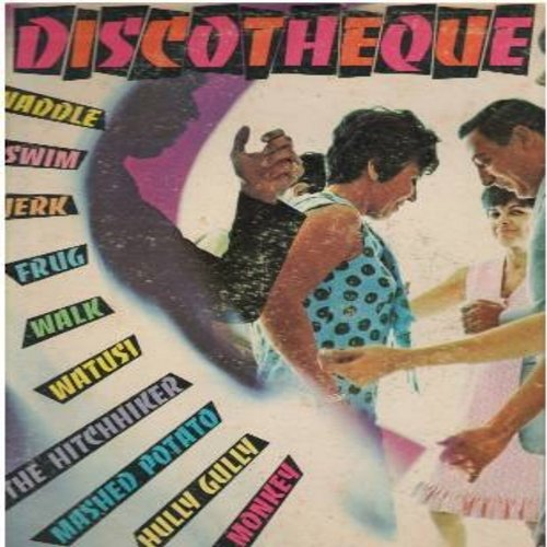 Discotheque - Discotheque: You Got Me Bugged, Why Won't You Leave The Man, Just One Look, Take A Chance (FANTASTIC 60s British Invasion Sound!) (Vinyl LP record) - EX8/VG6 - LP Records