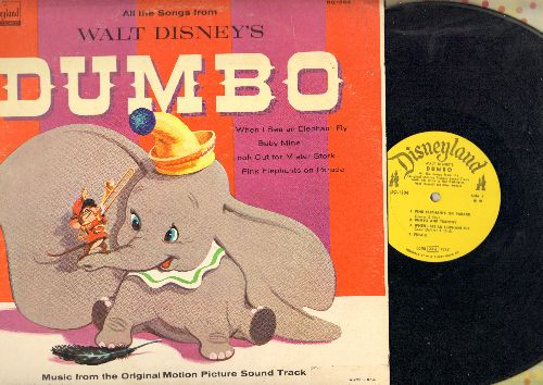 Disney - Dumbo - All The Songs From The Disney Classic (vinyl MONO LP record) - VG6/VG6 - LP Records