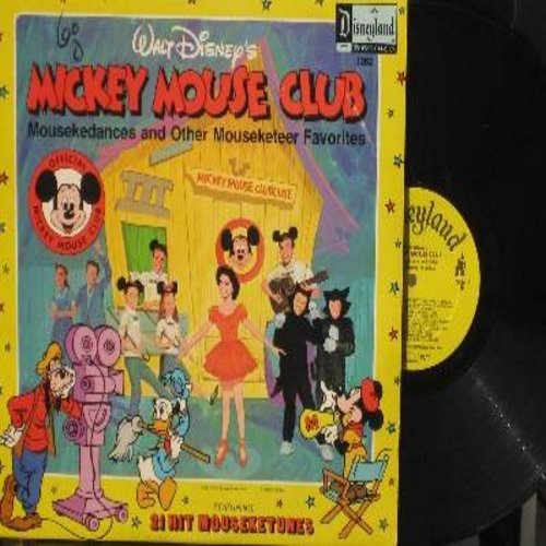 Disney - Mickey Mouse Club - Mousekedances and other Mouseketeer Favorites featuring Annette, Cubby, Karen Jimmy Dodd and all the Mouseketeers! (Vinyl STEREO LP record) - VG7/VG7 - LP Records