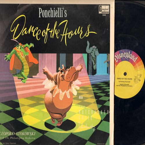 Disney - Dance Of The Hours and Nutcracker Suite (Vinyl MONO LP record) - EX8/VG7 - LP Records