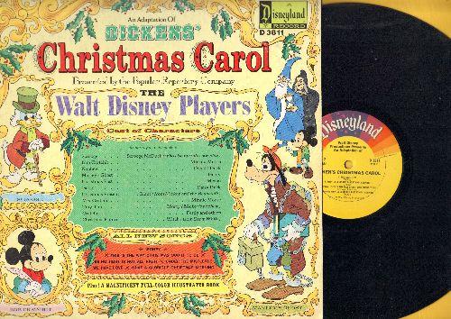 Disney - Dickens' Christmas Carol - Presented by The Walt Disney Players (vinyl STEREO LP record) - EX8/EX8 - LP Records