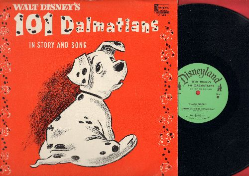 Disney - Walt Disney's 101 Dalmations in story and song (Vinyl STEREO LP record) - EX8/EX8 - LP Records