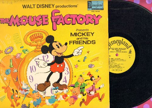 Disney - The Mouse Factory: Susie, The Little Blue Coupe/The Little House/Johnny Appleseed/Lambert, The Sheepish Lion (Vinyl MONO LP record) - EX8/VG7 - LP Records