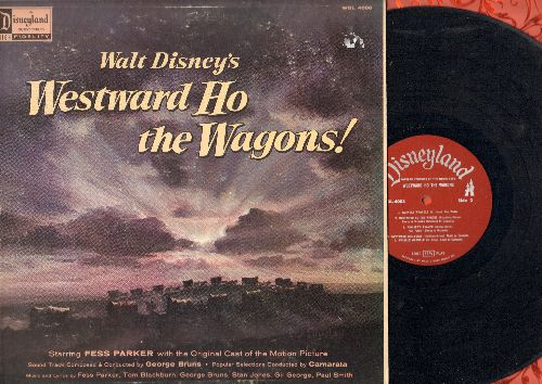 Disney - Westward Ho The Wagons - Original Motion Picture Soundtrack (vinyl MONO LP record) - EX8/VG7 - LP Records
