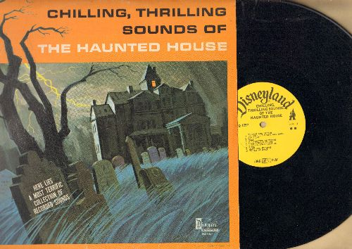 Disney - Chilling, Thrilling Sounds Of The Haunted House - Here lies a most terrific collection of reorded sounds (vinyl LP record) - VG7/VG7 - LP Records