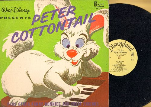 Disney - Peter Cottontail Plus Other Funny Bunnies And Their Friends (Vinyl LP record) - NM9/VG7 - LP Records