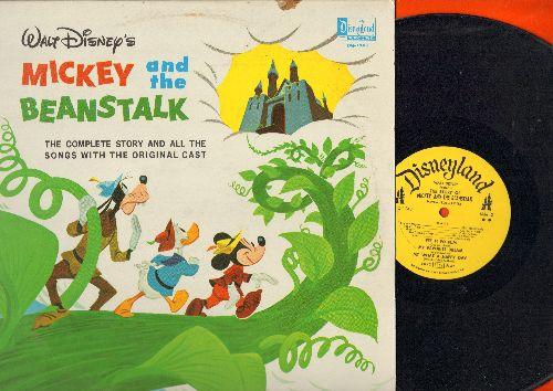 Disney - Mickey And The Beanstalk (Vinyl MONO LP record, 1963 pressing)) - VG7/EX8 - LP Records