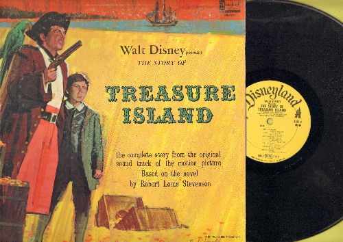 Disney - Treasure Island - The complete story from the original sound track of the Disney Classic (vinyl LP record) - VG7/VG7 - LP Records