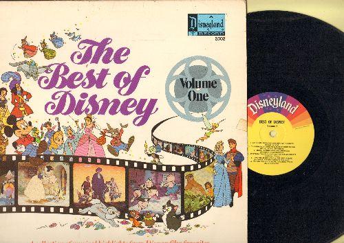 Disney - Best Of Disney Vol. 1: Zip-A-Dee-Doo-Dah, Bibbidi-Bpbbidi-Doo, Who's Afraid Of The Big Bad Wolf? (vinyl MONO LP record) - EX8/EX8 - LP Records
