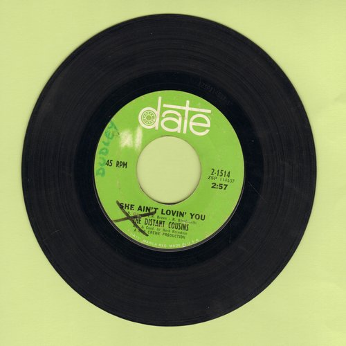 Distant Cousins - Here Today, Gone Tomorrow/She Ain't Lovin' You (wol) - VG7/ - 45 rpm Records