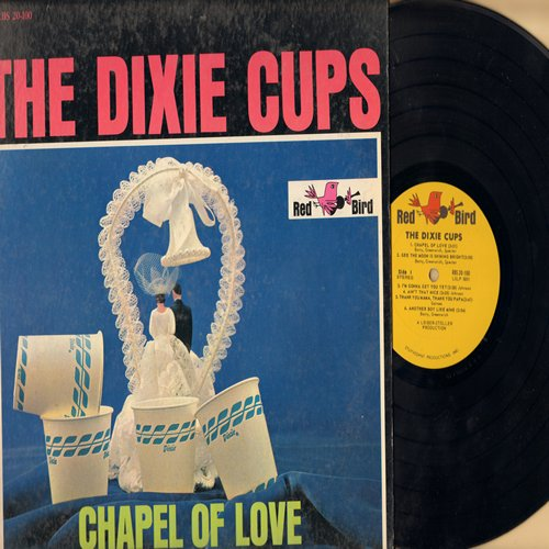 Dixie Cups - Chapel Of Love: I'm Gonna Get You Yet, Another Boy Like Mine, Iko Iko, Gee Baby Gee, People Say (Vinyl MONO LP record) - EX8/VG7 - LP Records