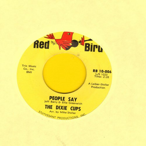 Dixie Cups - People Say/Girls Can Tell - VG7/ - 45 rpm Records