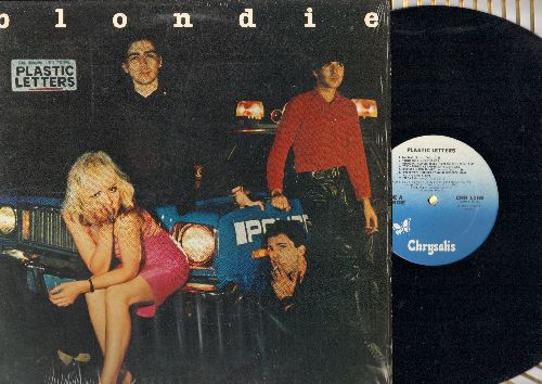 Blondie - Plastic Letters: Fan Mail, Denis, I'm On E, I Didn't Have The Nerve To Say No, Cautious Lip  (Vinyl LP record) - NM9/NM9 - LP Records