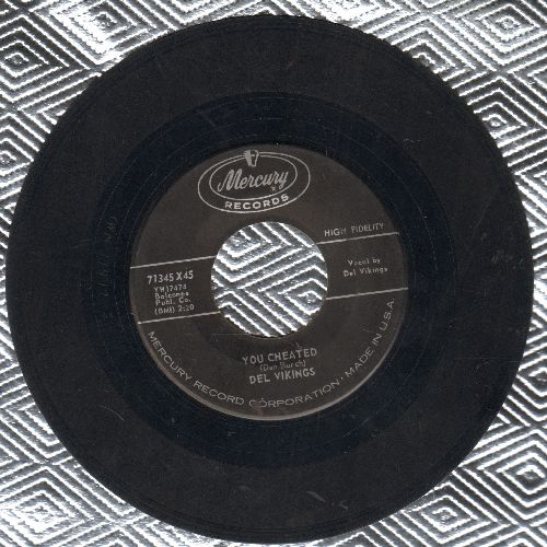 Dell Vikings - You Cheated/Pretty Little Things Called Girls - VG7/ - 45 rpm Records