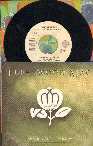 Fleetwood Mac - As Long As You Follow/Oh Well (LIVE) (with picture sleeve) - EX8/ - 45 rpm Records