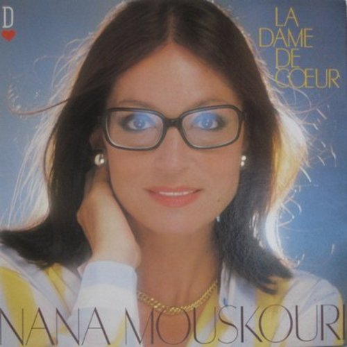Mouskouri, Nana - La Dame De Coeur: Chiquitita, Solitaire, Amapola, Je Ne Te Quitte Pas (Vinyl STEREO LP record, French Pressing, sung in French) - M10/NM9 - LP Records