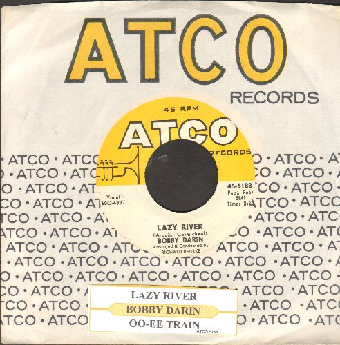 Darin, Bobby - Lazy River/Oo-Ee-Train (with juke box label and Atco company sleeve) - M10/ - 45 rpm Records