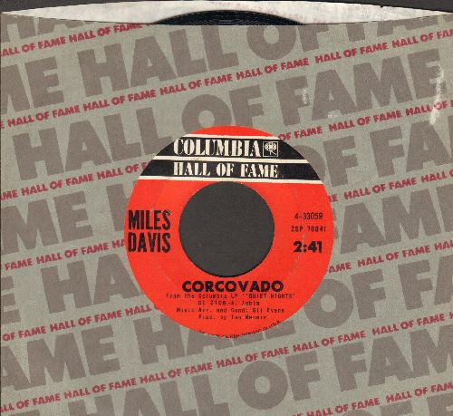 Davis, Miles - Corcovado/On Green Dolphin Street (double-hit re-issue with Columbia company sleeve) - EX8/ - 45 rpm Records