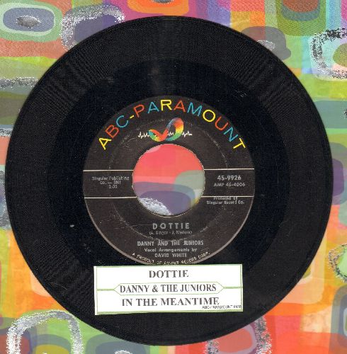Danny & The Juniors - Dottie/In The Meantime (with juke box label) - EX8/ - 45 rpm Records