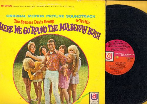 Davis, Spencer Group, Traffic - Here We Go 'Round The Mulberry Bush - Original Motion Picture Soundtrack (Vinyl STEREO LP record) - VG6/VG7 - LP Records