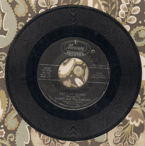 Danny & The Crowns - Let's Go Ski-ing/Sad Girl (bb) - EX8/ - 45 rpm Records