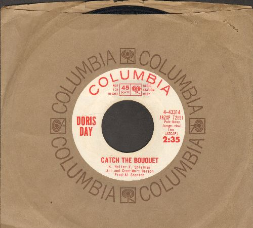 Day, Doris - Catch The Bouquet/Summer Has Gone (DJ advance pressing with Columbia company sleeve) - EX8/ - 45 rpm Records