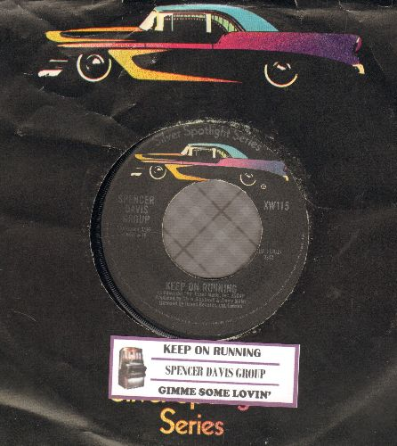 Four Tops - Reach Out I'll Be There/Until You Love Someone (German Pressing) - VG7/ - 45 rpm Records